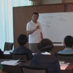 『医学部の実践小論文』の著者 小林公夫先生による授業