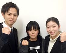 大谷室長と福永さん高柳先生